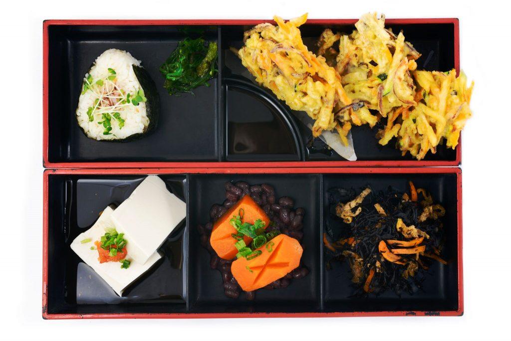 vegan japanese bento box brighton