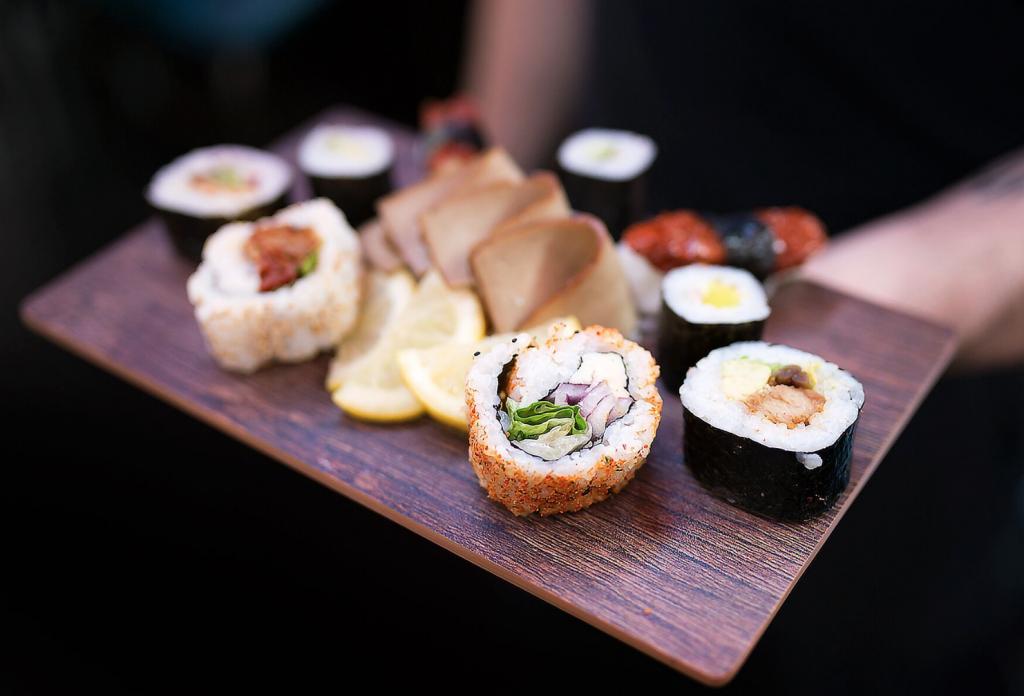 vegan sushi eco-friendly
