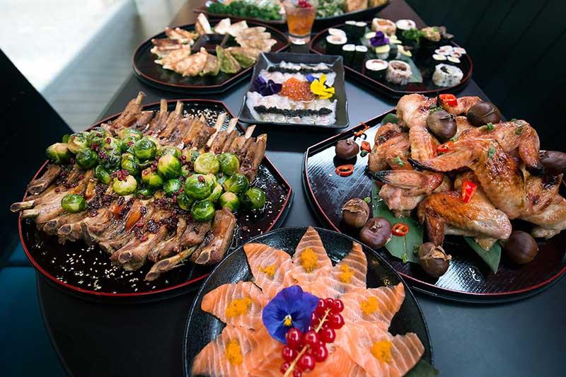 christmas sharing platters moshimo